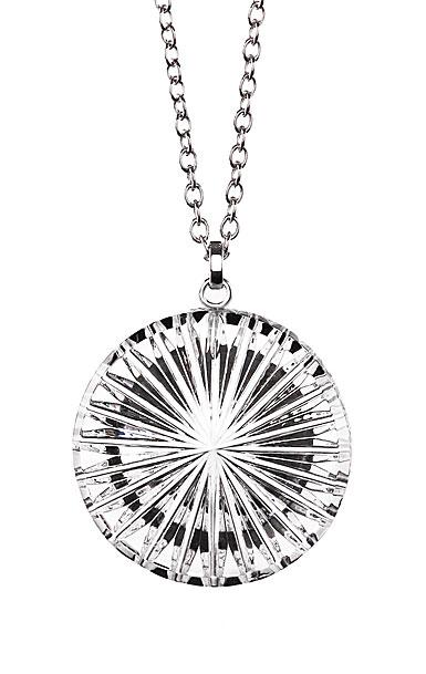 Cashs Crystal Newgrange Circle Pendant Necklace, Large