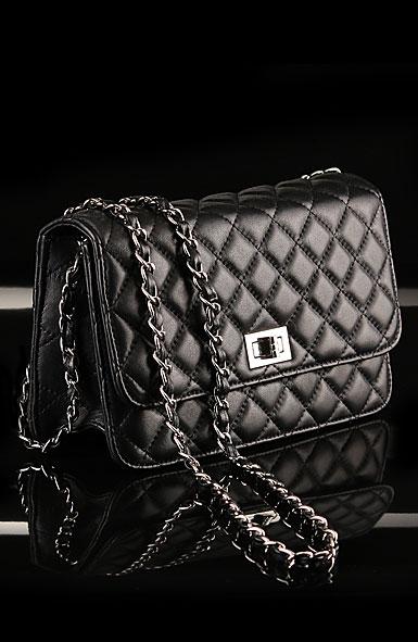 Cashs Top Grain Leather Cooper Handbag, Black, Limited Edition