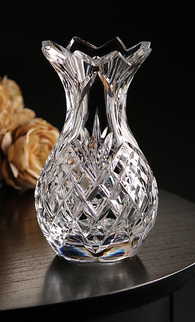 """Cashs Crystal 6"""" Pineapple Vase"""