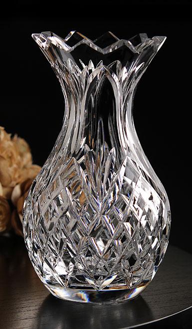 """Cashs Crystal 8"""" Pineapple Vase"""