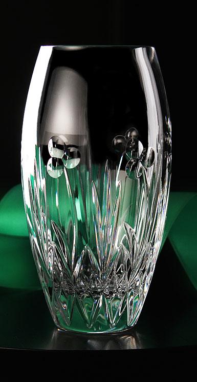 Cashs Celtic Shamrock Rose Vase