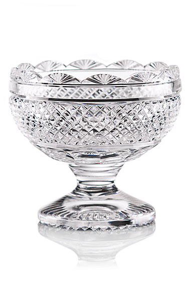 Cashs Crystal Art Collection, Footed Sugar Bowl, Limited Edition