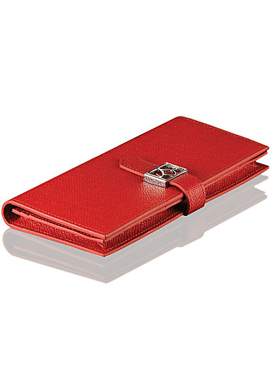 Cashs Top Grain Leather Red Avondale Wallet Purse