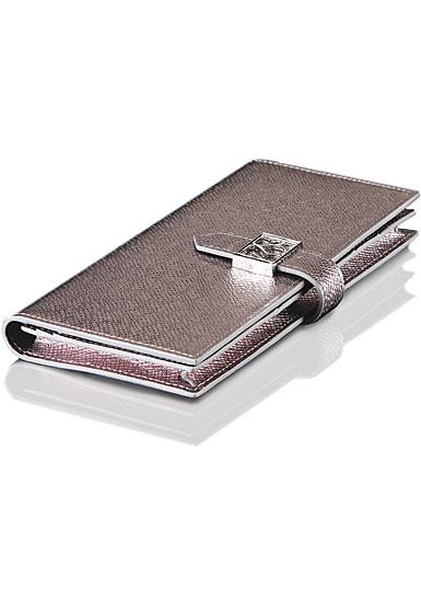 Cashs Top Grain Leather Silver Avondale Wallet Purse