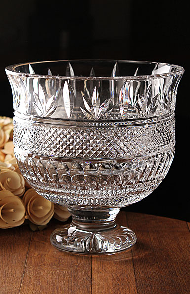 Waterford jim o 39 leary westbury footed centerpiece trifle bowl - Footed bowl centerpiece ...