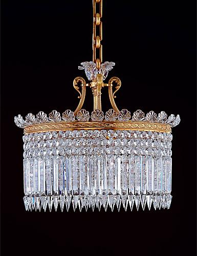 Baccarat Crinoline Chandelier, 13 Light