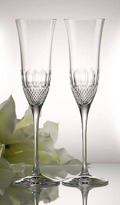 Waterford Colleen Essence Flute, Pair