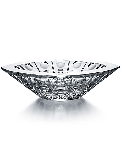 "Baccarat Equinoxe Ashtray 2"" H x 7"" Dia."