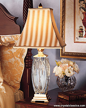 Waterford Finn Lamp and Shade, 26