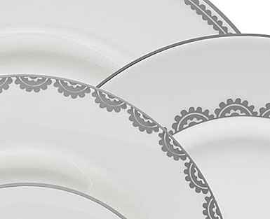 Vera Wang Wedgwood China Flirt 5 Piece Place Setting
