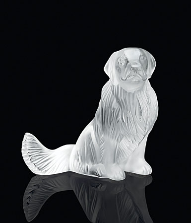 Lalique Golden Retriever Dog Figure