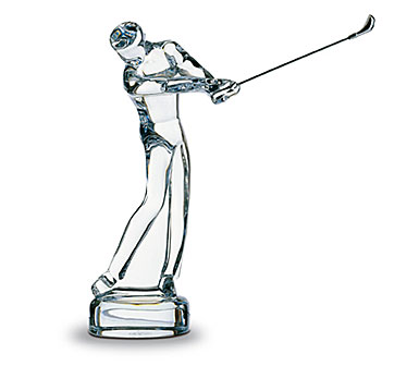 Baccarat Golf Series Saint-Andrews 7 7/8in H X 2 3/8in L