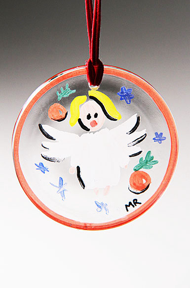 Kosta Boda Angel Ornament
