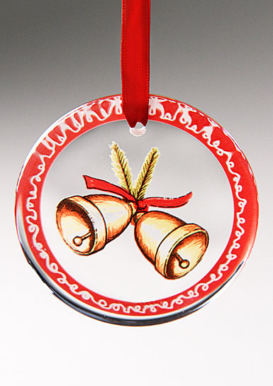 Kosta Boda Bells Ornament
