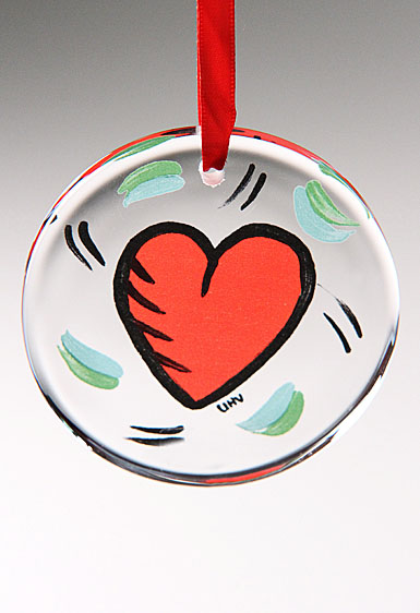 Kosta Boda Heart Ornament, 2012