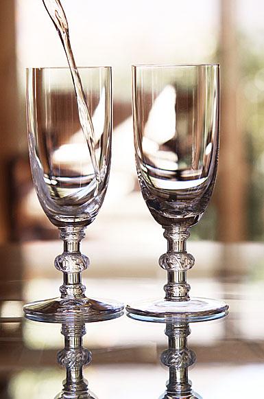 Lalique Saint-Hubert Champagne Flute