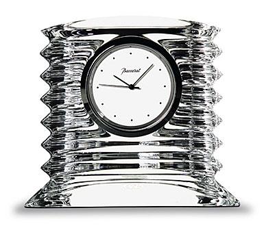 Baccarat Lalande Small Clock