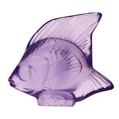 Lalique Light Purple Fish, #26