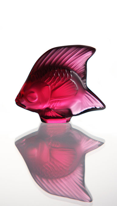 Lalique Golden Red Fish, #27