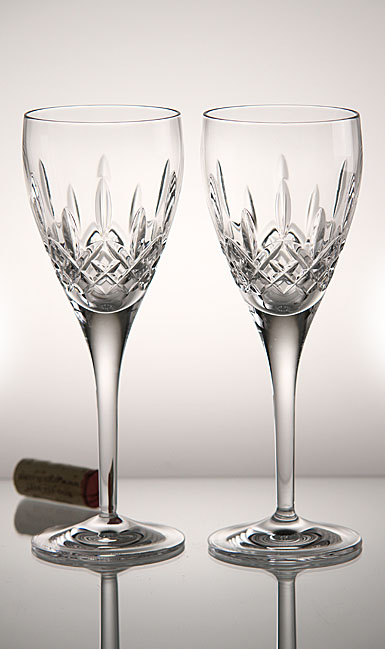 Waterford Lismore Nouveau Wine, Pair