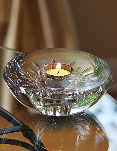 Waterford Lismore Essence Votive With Candle