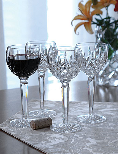Waterford Lismore Hock Wine Glass, Single