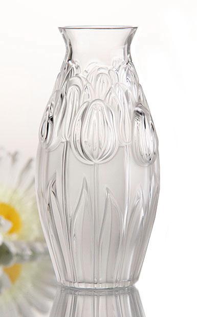 Lalique Tulips Vase
