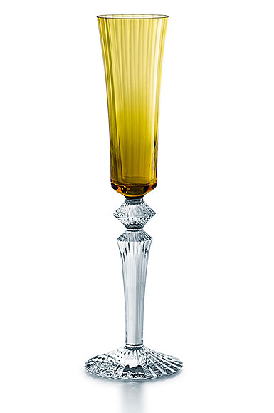 Baccarat Mille Nuits Flutissimo Amber Flute, Single