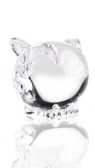 Baccarat Minimals Clear Pig