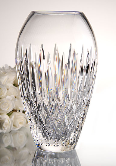 Monique Lhuillier Waterford Arianne 9in vase