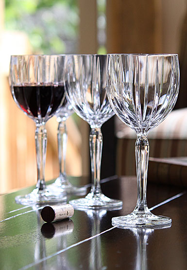 Marquis By Waterford Omega Red Wine Glasses, Set of 4