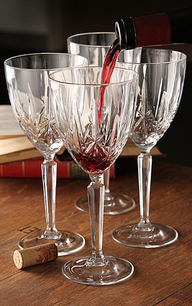 Marquis by Waterford Sparkle Oversized Goblet / Red Wine Set of Four