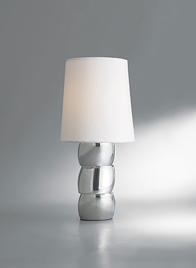 Nambe Libra Accent Lamp, 13 1/2in