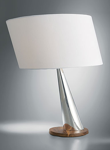 Nambe Wind Table Lamp, 23in