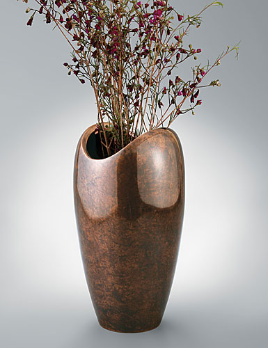 Nambe Heritage Pebble Vase, 7.5 in