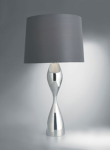Nambe Forma Table Lamp, 30in H