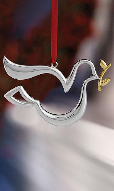 Nambe Dove Ornament