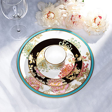Lenox China Marchesa Painted Camellia, 5 Piece Place Setting