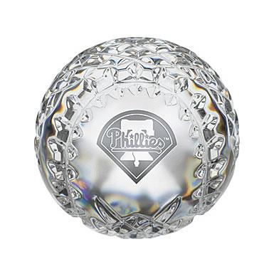 Waterford Philadelphia Phillies Crystal Baseball
