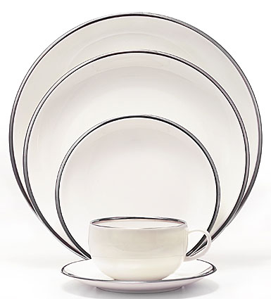 Wedgwood Plato Platinum 5-Piece Place Setting