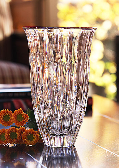 """Marquis By Waterford Rainfall 9"""" Vase"""
