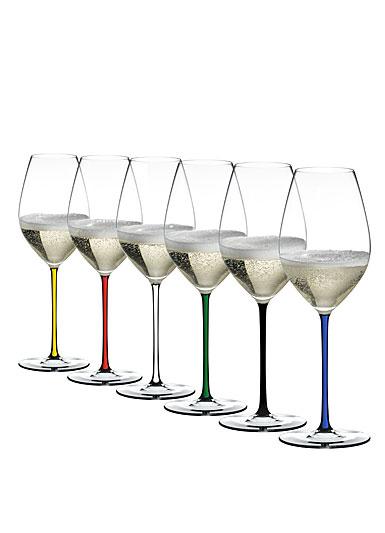 Riedel Fatto A Mano Champagne Wine Glass, Set of 6