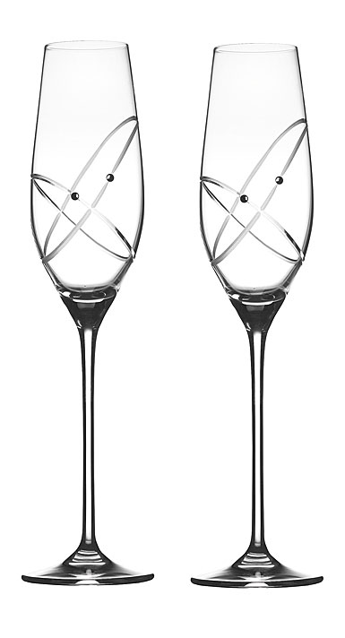 Royal Doulton With The Ring Flutes, Pair
