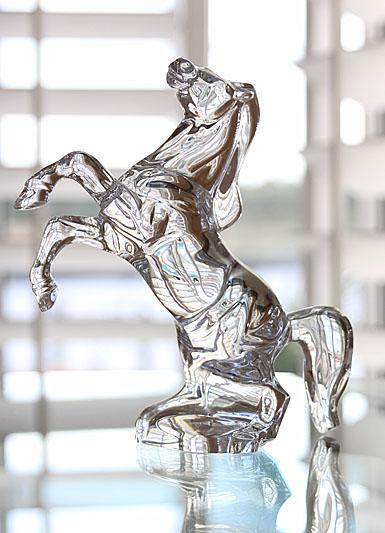 Baccarat Rearing Horse
