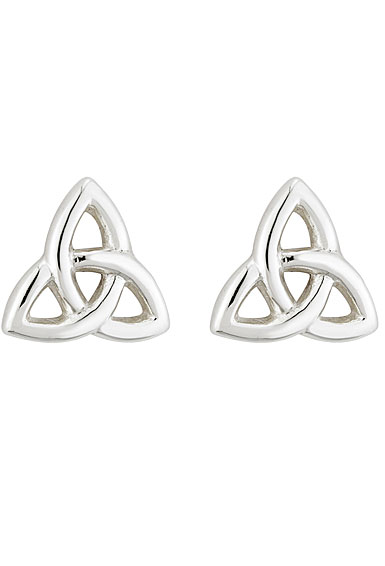 Cashs Sterling Silver Trinity Knot Pierced Earrings Pair