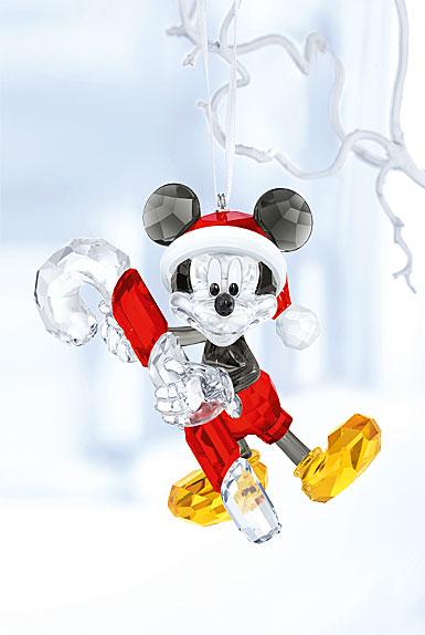 Swarovski Disney Mickey Mouse Christmas Ornament