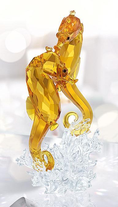 Swarovski Seahorse Couple Sculpture