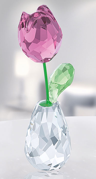 Swarovski Flower Dreams Pink Tulip