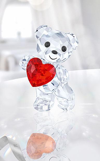 Swarovski Kris Bear A Heart For You, Light Siam