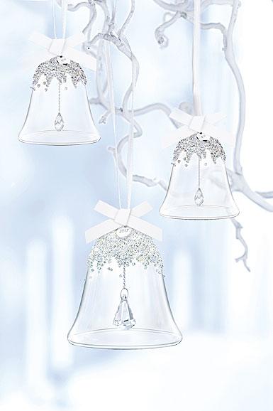 Swarovski 2017 Annual Christmas Bell Ornament Set